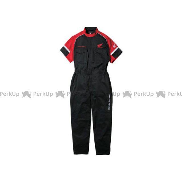送料無料 Honda ホンダ その他アパレル Honda TN-T41 レーシングピットスーツSS 半袖(ブラック) M