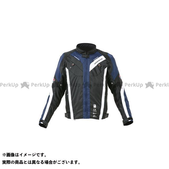 ホンダ ジャケット HRC 2020春夏モデル ハーフメッシュライディングブルゾン(ブルー) サイズ:L Honda