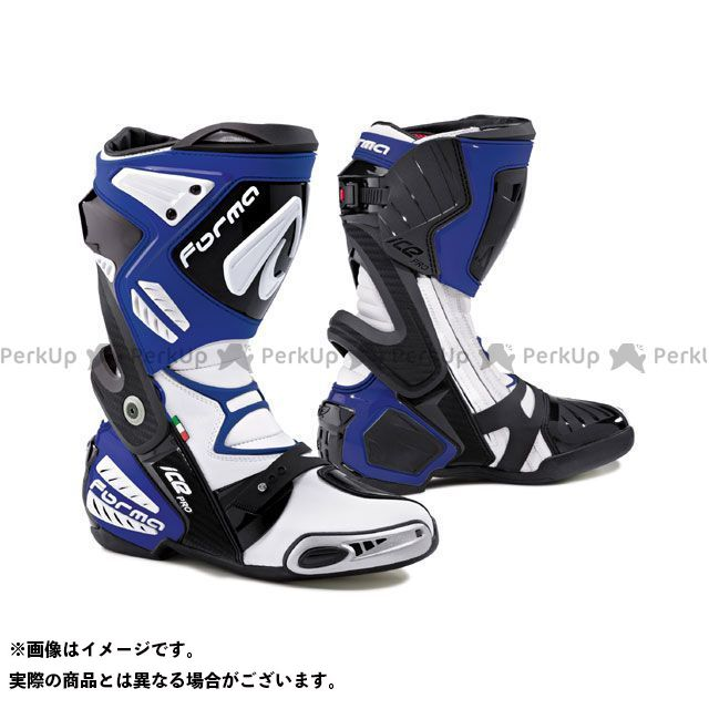 送料無料 FORMA フォーマ レーシングブーツ ICE PRO レーシングブーツ ブルー 40/25.5cm