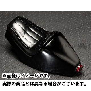 ANBU SR400 SR500 シート関連パーツ BALLE TZタイプシートカウル ブラック テールランプ付 アンブ