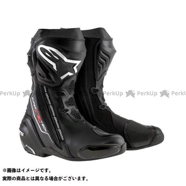 アルパインスターズ レーシングブーツ スーパーテックR ブーツ カラー:ブラック サイズ:43 Alpinestars