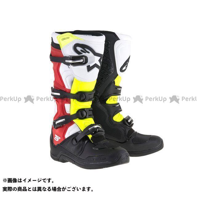 アルパインスターズ オフロードブーツ テック5 カラー:ブラック/ホワイト/レッド/イエロー/ブラック サイズ:11/29.5cm Alpinestars