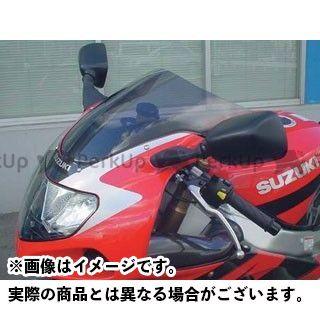 エムアールエー GSX-R1000 GSX-R600 GSX-R750 スクリーン関連パーツ スクリーン オリジナル カラー:スモーク MRA