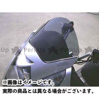 エムアールエー シルバーウイング400 シルバーウイング600 スクリーン関連パーツ スクリーン ショート カラー:スモーク MRA