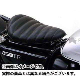 【エントリーで最大P21倍】WirusWin 250TR シート関連パーツ 250TR用 ソロシートキット アップバージョン タイプ:タックロールタイプ カラー:ブラック ウイルズウィン