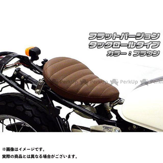 【エントリーで更にP5倍】WirusWin CB223S シート関連パーツ CB223S用 ソロシートキット フラットバージョン タイプ:タックロールタイプ カラー:ブラウン ウイルズウィン