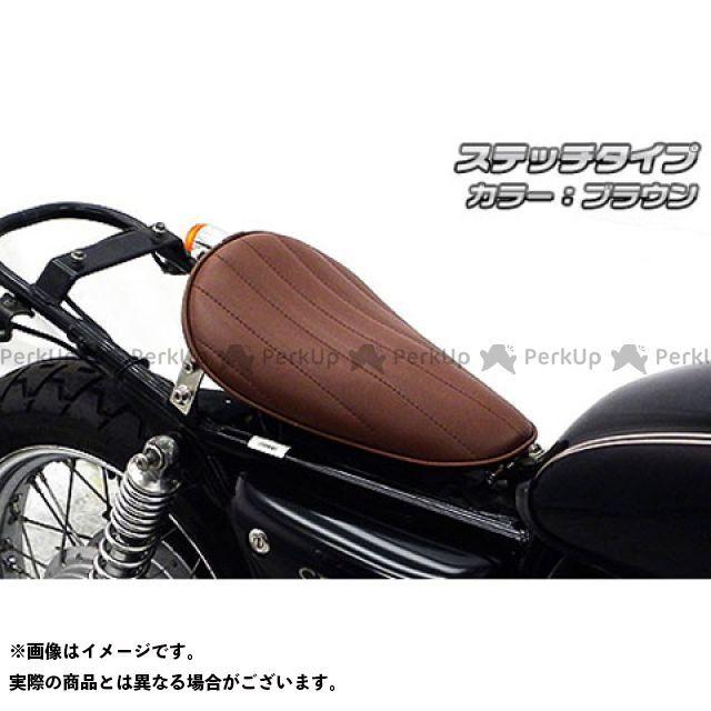 【エントリーで更にP5倍】WirusWin CB400SS シート関連パーツ CB400SS用 ロングノーズソロシートキット タイプ:ステッチタイプ カラー:ブラウン ウイルズウィン