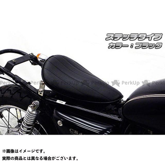 【エントリーで更にP5倍】WirusWin CB400SS シート関連パーツ CB400SS用 ロングノーズソロシートキット タイプ:ステッチタイプ カラー:ブラック ウイルズウィン