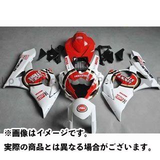 CJ-BEET MX GSX-R1000 カウル・エアロ レーサーレプリカ外装キット SUZUKI GSXR1000 05-06 カラー:ラッキーストライク オプション:- CJビート