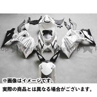 CJ-BEET MX GSX-R1000 カウル・エアロ レーサーレプリカ外装キット SUZUKI GSXR1000 07-08 カラー:ホワイトアレスターCORONA オプション:シングルシートカウル有 CJビート