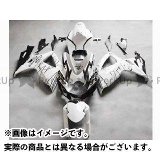 CJ-BEET MX GSX-R600 カウル・エアロ レーサーレプリカ外装キット SUZUKI GSXR600 06-07 カラー:ホワイトアレスターCORONA オプション:- CJビート