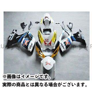 CJ-BEET MX GSX-R600 カウル・エアロ レーサーレプリカ外装キット SUZUKI GSXR600 06-07 カラー:アレスターBRUX オプション:シングルシートカウル有 CJビート