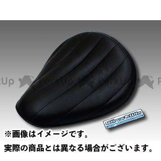 WirusWin バンバン200 シート関連パーツ バンバン200用 ソロシートキット アップバージョン タイプ:ステッチタイプ カラー:ブラック ウイルズウィン