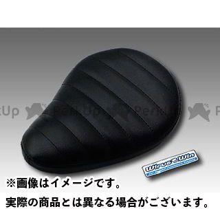 WirusWin モンキー シート関連パーツ モンキー(キャブレター仕様車)用 ソロシートキット フラットバージョン タイプ:タックロールタイプ カラー:ブラック ウイルズウィン