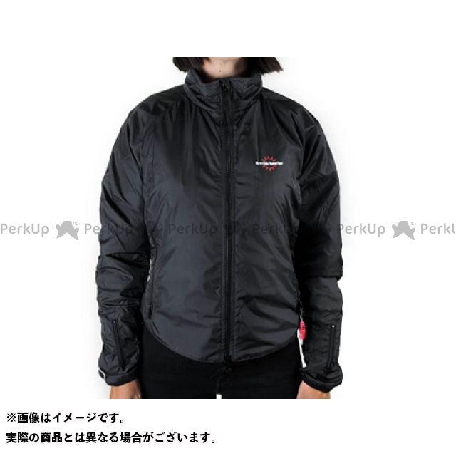 ウォームアンドセーフ 電熱ウェア・防寒用品 WS-JLW4 女性用ヒーテッド・ジャケット(ブラック) サイズ:M Warm&Safe