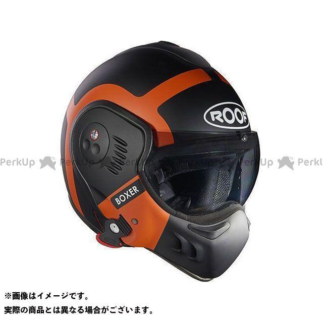 ルーフ システムヘルメット(フリップアップ) Boxer V8 Bond Matt Black-Orange サイズ:M ROOF