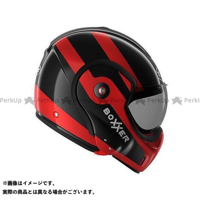 ルーフ システムヘルメット(フリップアップ) New Boxxer Fuzo Black-Red サイズ:XS ROOF