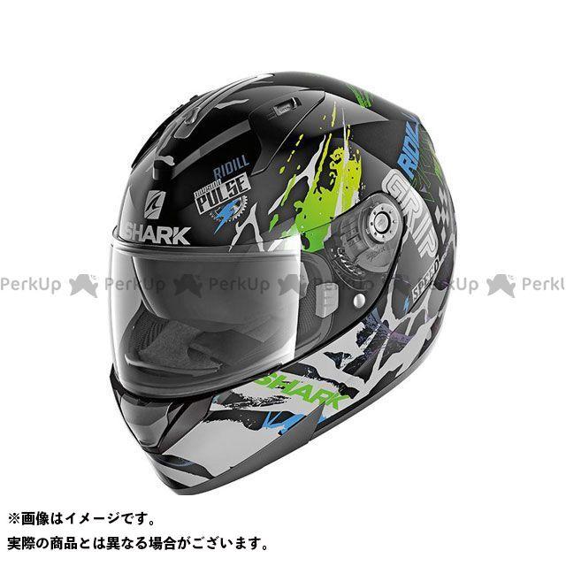 SHARK HELMETS フルフェイスヘルメット Ridill Drift-R Helmet Black Green Blue サイズ:XL シャークヘルメット