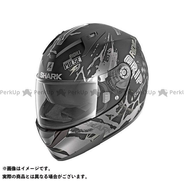 SHARK HELMETS フルフェイスヘルメット Ridill Drift-R Mat Helmet Black Anthrac Silver サイズ:XS シャークヘルメット
