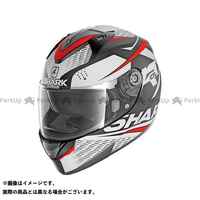 SHARK HELMETS フルフェイスヘルメット Ridill Stratom Mat Helmet Black white red サイズ:L シャークヘルメット