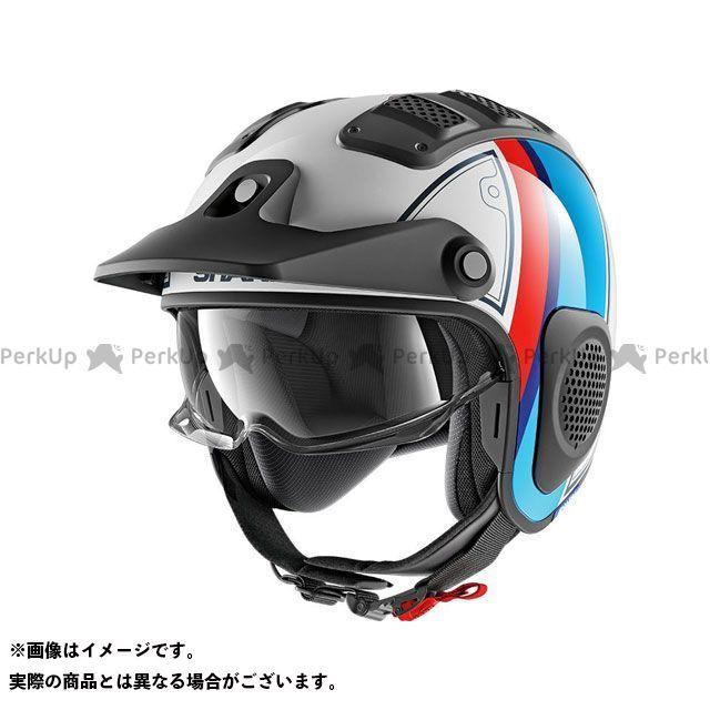 SHARK HELMETS ジェットヘルメット X-Drak Terrence Helmet White Blue Red サイズ:XL シャークヘルメット