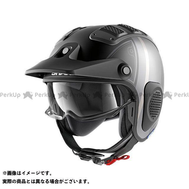 SHARK HELMETS ジェットヘルメット X-Drak Terrence Mat Helmet Black Anthrac Silver サイズ:M シャークヘルメット
