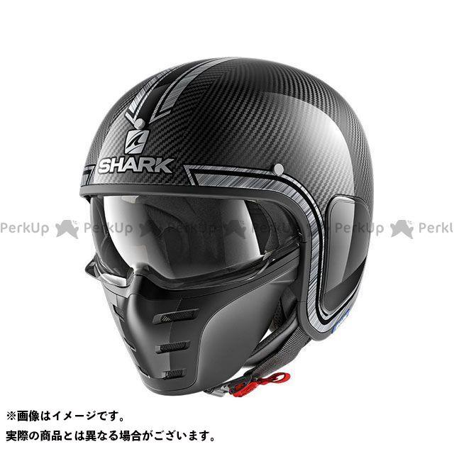 SHARK HELMETS ジェットヘルメット S-Drak Carbon Vinta Helmet Carbon Chrom Silver サイズ:L シャークヘルメット
