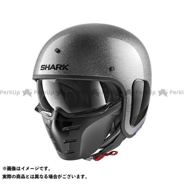 SHARK HELMETS ジェットヘルメット S-Drak Glitter Helmet Silver Glitter サイズ:L シャークヘルメット