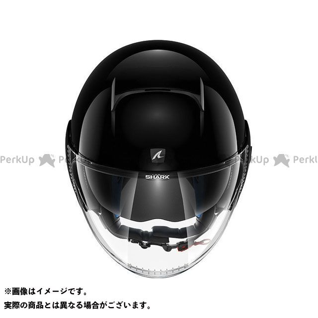 SHARK HELMETS ジェットヘルメット Nano Blank Helmet Black サイズ:XL シャークヘルメット