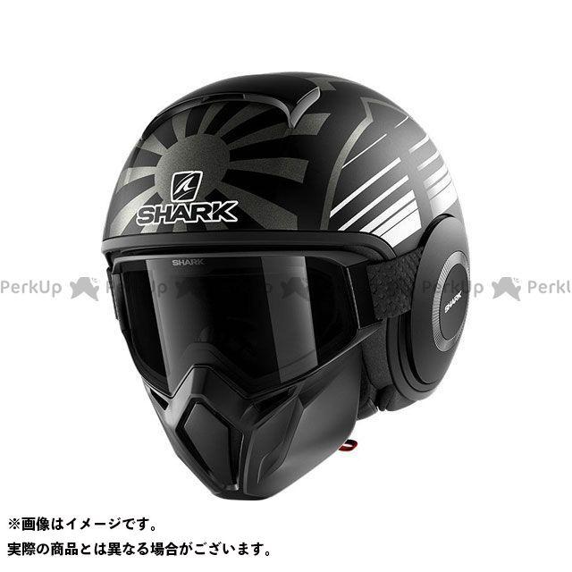 SHARK HELMETS ジェットヘルメット Street Drak Replica Zarco Malaysian GP Mat Helmet Black Anthracite サイズ:S シャークヘルメット
