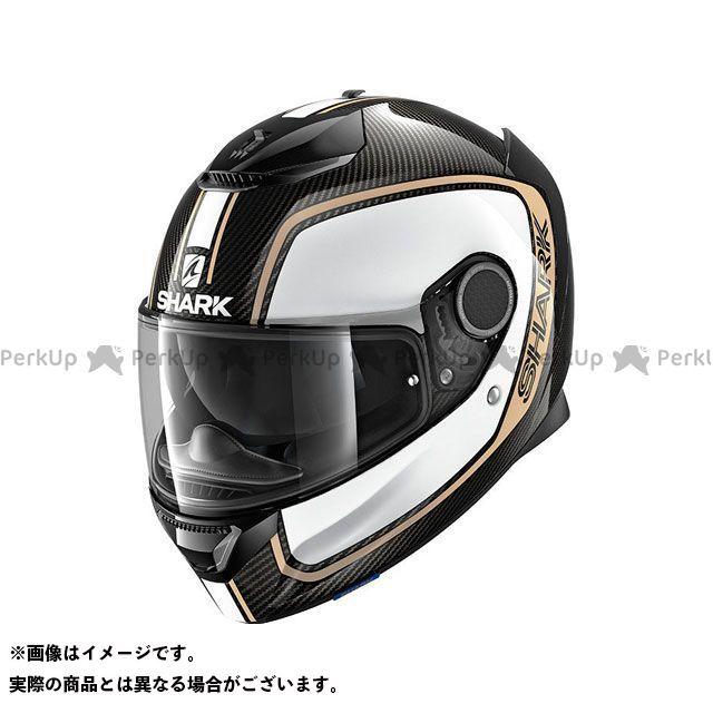 SHARK HELMETS フルフェイスヘルメット Spartan Carbon Priona Helmet Carbon White Gold サイズ:S シャークヘルメット