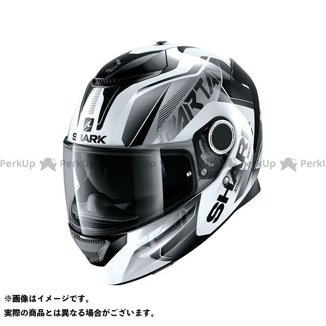 SHARK HELMETS フルフェイスヘルメット Spartan Karken Helmet White Black Black サイズ:S シャークヘルメット