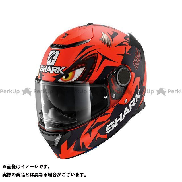 SHARK HELMETS フルフェイスヘルメット Spartan Replica Lorenzo Austrian Gp Mat Helmet Red Black Red サイズ:S シャークヘルメット
