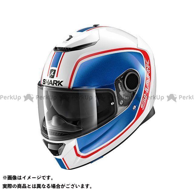 SHARK HELMETS フルフェイスヘルメット Spartan Priona Helmet White Blue Red サイズ:M シャークヘルメット