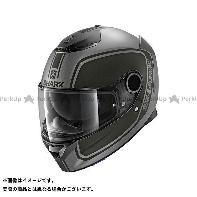 SHARK HELMETS フルフェイスヘルメット Spartan Priona Mat Helmet Anthracite Black サイズ:S シャークヘルメット
