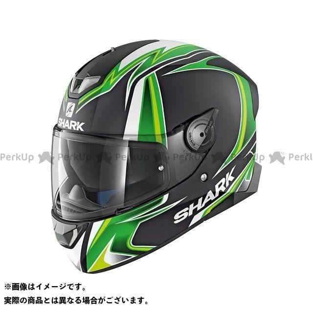 SHARK HELMETS フルフェイスヘルメット Skwal 2 Replica Sykes Mat Helmet Black green white サイズ:XL シャークヘルメット