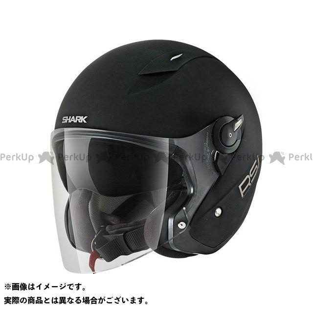 SHARK HELMETS ジェットヘルメット RSJ Mat Helmet Black Matt サイズ:L シャークヘルメット