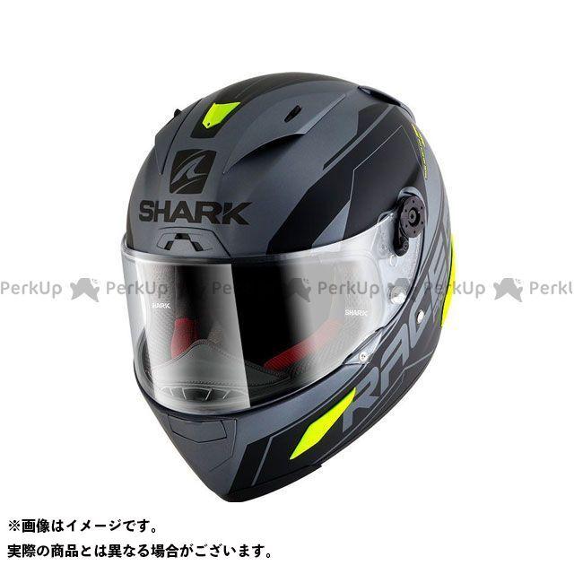 SHARK HELMETS フルフェイスヘルメット Race-R Pro Sauer Mat Helmet Anthracite Black Yellow サイズ:XS シャークヘルメット