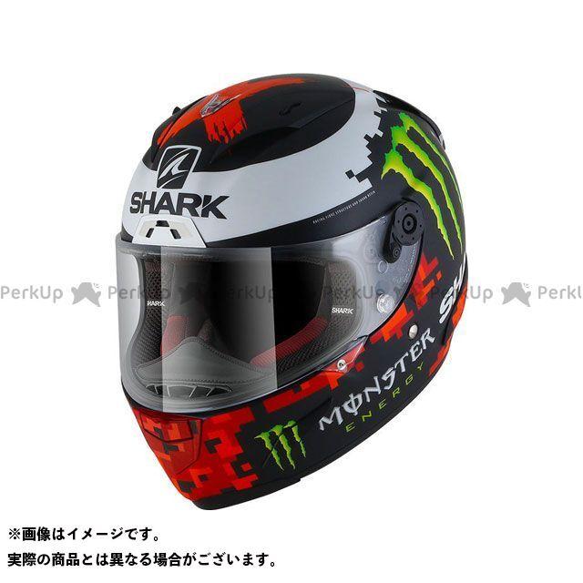 SHARK HELMETS フルフェイスヘルメット Race-R Pro Replica Lorenzo Monster Mat 2018 Helmet Black Red Green サイズ:XL シャークヘルメット