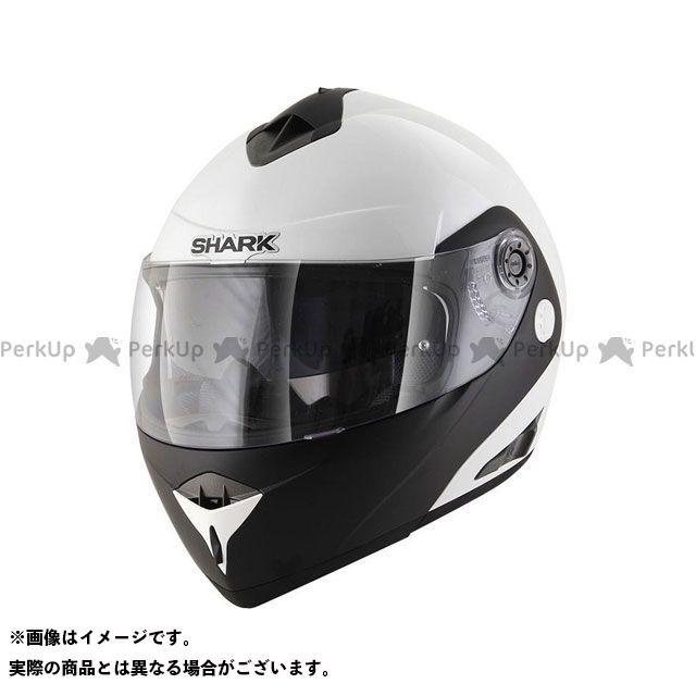 SHARK HELMETS システムヘルメット(フリップアップ) Openline D-Tone Helmet White Black White サイズ:M シャークヘルメット