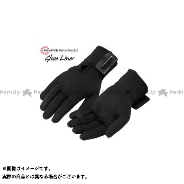 ウォームアンドセーフ インナーグローブ WS-HG 男女兼用インナー・グラブ(ブラック) サイズ:XS Warm&Safe