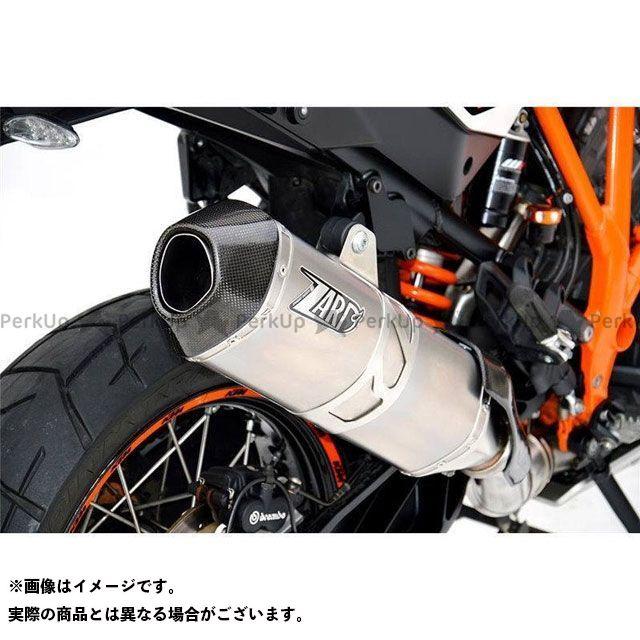 【無料雑誌付き】ZARD その他のモデル マフラー本体 チタン EURO 3 HOMOLOGATED スリップオン WITH カーボン ENDCAP for KTM 1050/1190/1290 ADVENTURE (2013-2016) | ZKTM…