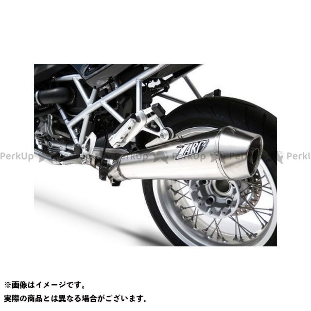 【エントリーで最大P23倍】ZARD R1200R マフラー本体 ステンレススチール レーシング スリップオン for BMW R 1200 R (2009-2010) | ZBMW085SSR-S ZARD