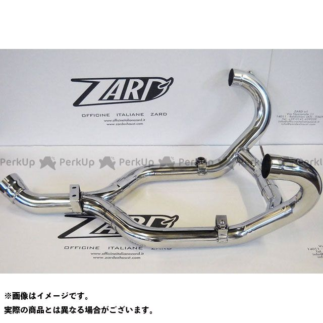 ZARD R1200R マフラー本体 ステンレススチール レーシング ヘッダキット WITH COMPENSER for BMW R 1200 R (2011-2013) | ZBMW518SCR-C ZARD