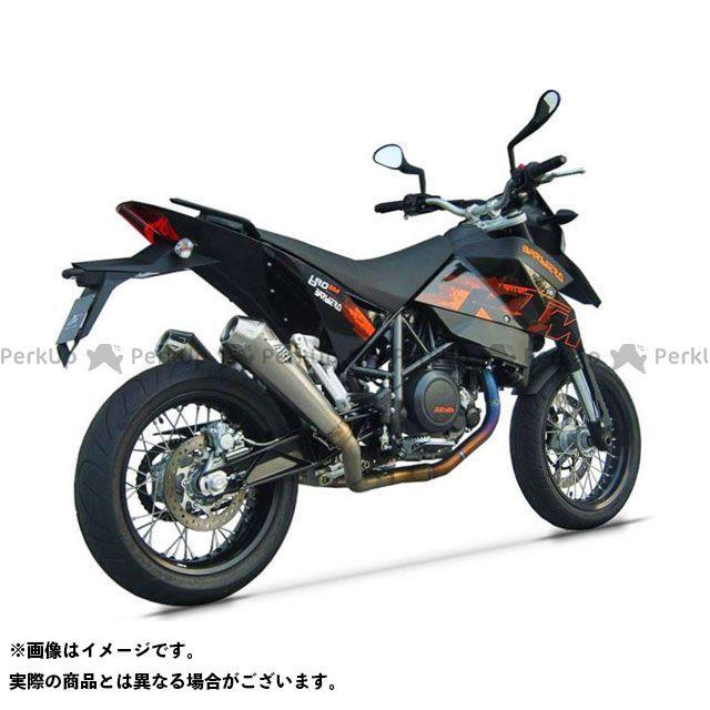 【エントリーで最大P23倍】ZARD その他のモデル マフラー本体 2>2 ステンレススチール レーシング フルキット for KTM 690 SM (2006-2008) | ZKTM220SKR ZARD