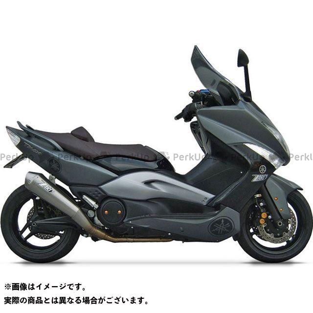 【無料雑誌付き】ZARD TMAX500 マフラー本体 ステンレススチール -チタン レーシング フルキット for YAMAHA T-MAX (2004-2007) | ZY091TKR ZARD