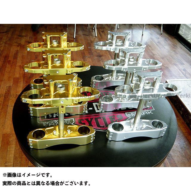 エイチエスシー ビューエル汎用 トップブリッジ関連パーツ ステアリングステム『XB-S系』 カラー:ゴールド HSC