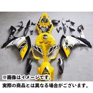 CJ-BEET MX YZF-R1 カウル・エアロ レーサーレプリカ外装キット YAMAHA YZFR1 07-08 カラー:インターカラー オプション:シングルシートカウル有 CJビート
