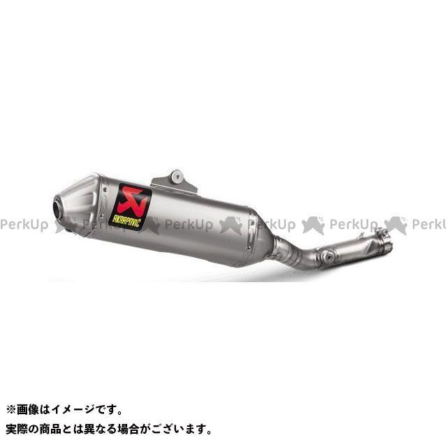 【無料雑誌付き】AKRAPOVIC KX250F マフラー本体 Slip-On Line(Titanium) for Kawasaki KX 250 F(2004-2018) | S-K2SO9-BNTA アクラポビッチ