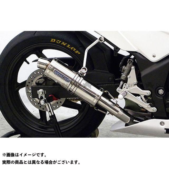 【エントリーで更にP5倍】WirusWin CBR250R マフラー本体 CBR250R(JBK-MC41)用 レーシングマフラー ウイルズウィン